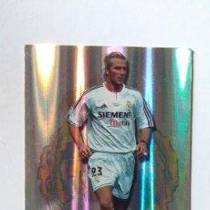 Figurine di Calcio: CROMO FICHAS DE LA LIGA 2004 MUNDICROMO BECKHAM REAL MADRID N588. Lote 121340731