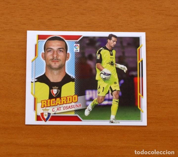 OSASUNA - RICARDO - LIGA 2010-2011, 10-11 - EDICIONES ESTE - NUNCA PEGADO (Coleccionismo Deportivo - Álbumes y Cromos de Deportes - Cromos de Fútbol)