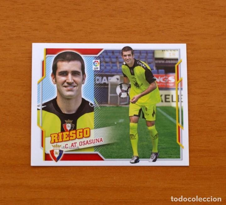 OSASUNA - RIESGO - LIGA 2010-2011, 10-11 - EDICIONES ESTE - NUNCA PEGADO (Coleccionismo Deportivo - Álbumes y Cromos de Deportes - Cromos de Fútbol)