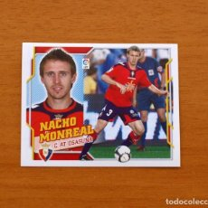 Cromos de Fútbol: OSASUNA - NACHO MONREAL - LIGA 2010-2011, 10-11 - EDICIONES ESTE - NUNCA PEGADO. Lote 210675054