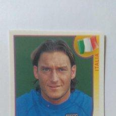 Figurine di Calcio: CROMO MUNDIAL 2002 KOREA JAPON PANINI FRANCESCO TOTTI ITALIA N470. Lote 121360439