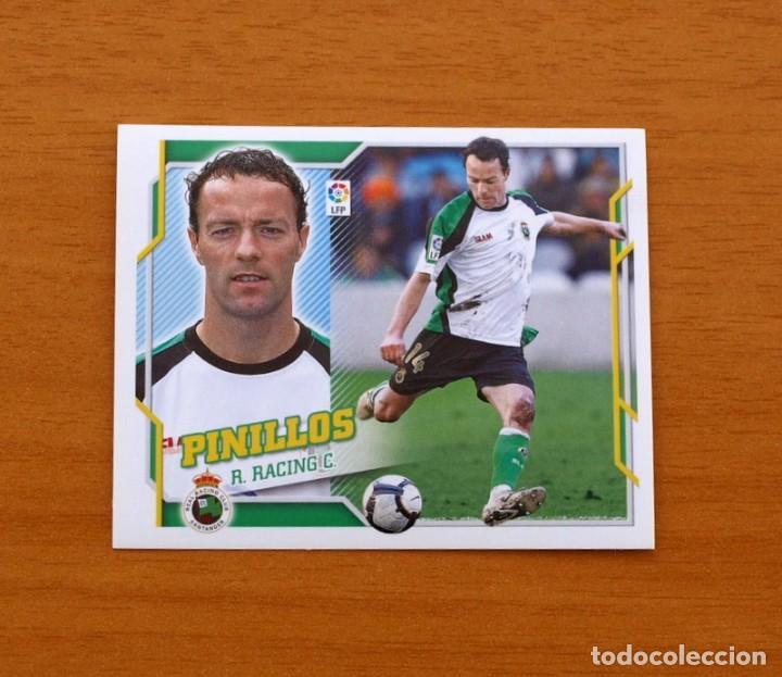 RACING DE SANTANDER - PINILLOS - LIGA 2010-2011, 10-11 - EDICIONES ESTE - NUNCA PEGADO (Coleccionismo Deportivo - Álbumes y Cromos de Deportes - Cromos de Fútbol)