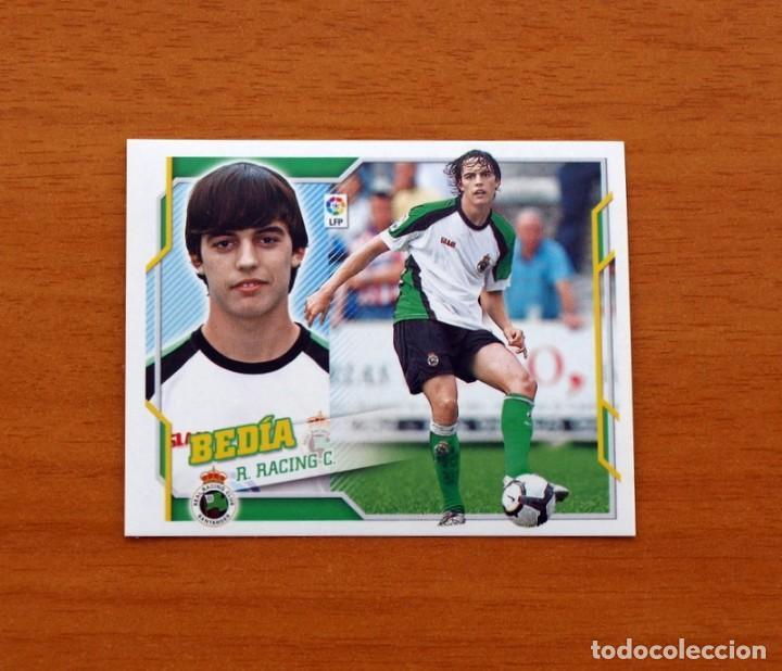 RACING DE SANTANDER - BEDÍA - LIGA 2010-2011, 10-11 - EDICIONES ESTE - NUNCA PEGADO (Coleccionismo Deportivo - Álbumes y Cromos de Deportes - Cromos de Fútbol)