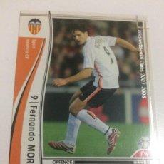 Cromos de Fútbol: CROMO CARD WCCF LIGA 2007-08 PANINI DE JAPÓN VALENCIA CF MORIENTES (TENGO MAS MIRA MIS LOTES). Lote 121358767