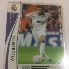 Cromos de Fútbol: CROMO CARD WCCF LIGA 2007-08 PANINI DE JAPÓN REAL MADRID MARCELO (TENGO MAS MIRA MIS LOTES). Lote 121386439