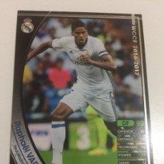 Cromos de Fútbol: CROMO CARD WCCF LIGA 2016-17 PANINI DE JAPÓN REAL MADRID VARANE (TENGO MAS MIRA MIS LOTES). Lote 121398467