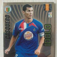 Cromos de Fútbol: CASQUERO GETAFE ÍDOLO ADRENALYN XL 2009 2010 09 10. Lote 121430079