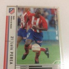 Cromos de Fútbol: CROMO CARD WCCF LIGA 2006-07 PANINI DE JAPÓN AT MADRID PEREA (TENGO MAS MIRA MIS LOTES). Lote 121401955