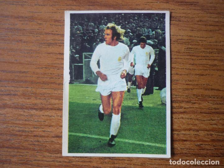 FHER DISGRA LIGA 1975 1976 NETZER (REAL MADRID) DESPEGADO - CROMO 75 76 (Coleccionismo Deportivo - Álbumes y Cromos de Deportes - Cromos de Fútbol)