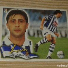 Cromos de Fútbol: CROMO LOREN, REAL SOCIEDAD LIGA 00-01 (2000 2001) ÁLBUM ESTE. Lote 121497307