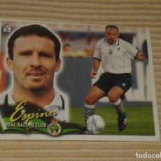 Cromos de Fútbol: CROMO ESPINA, RACING SANTANDER LIGA 00-01 (2000 2001) ÁLBUM ESTE. Lote 121501943