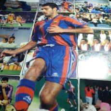 Cromos de Fútbol: POSTER * GUARDIOLA * COMPUESTO DE 18 CROMOS . Lote 121527995