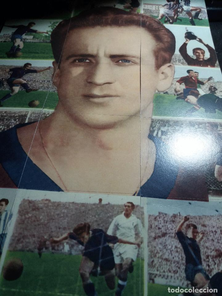 POSTER * BASORA * COMPUESTO DE 18 CROMOS (Coleccionismo Deportivo - Álbumes y Cromos de Deportes - Cromos de Fútbol)