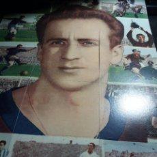 Cromos de Fútbol: POSTER * BASORA * COMPUESTO DE 18 CROMOS. Lote 121528419