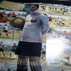 Cromos de Fútbol: POSTER * ZAMORA * COMPUESTO DE 18 CROMOS . Lote 121529311