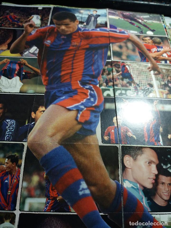 POSTER * RIVALDO * COMPUESTO DE 18 CROMOS (Coleccionismo Deportivo - Álbumes y Cromos de Deportes - Cromos de Fútbol)