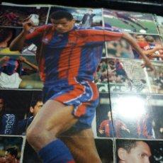 Cromos de Fútbol: POSTER * RIVALDO * COMPUESTO DE 18 CROMOS . Lote 121529407