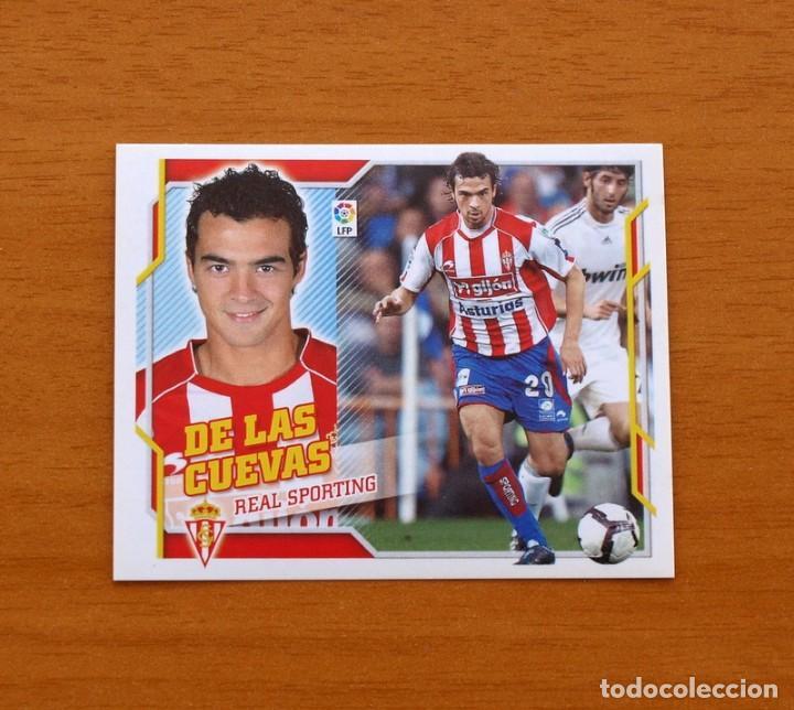 SPORTING DE GIJÓN - DE LAS CUEVAS - LIGA 2010-2011, 10-11 - EDICIONES ESTE - NUNCA PEGADO (Coleccionismo Deportivo - Álbumes y Cromos de Deportes - Cromos de Fútbol)