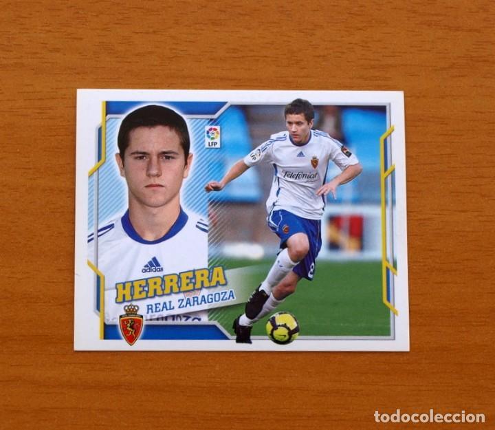 ZARAGOZA - HERRERA - LIGA 2010-2011, 10-11 - EDICIONES ESTE - NUNCA PEGADO (Coleccionismo Deportivo - Álbumes y Cromos de Deportes - Cromos de Fútbol)