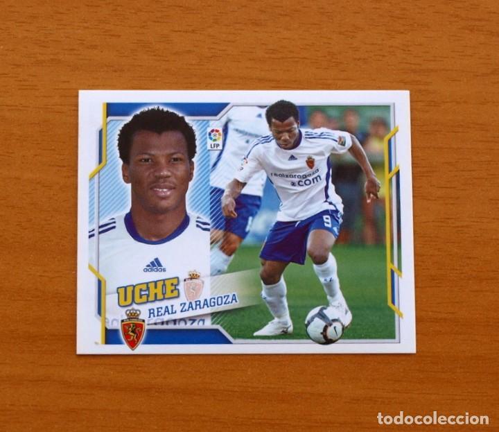 ZARAGOZA - UCHE - LIGA 2010-2011, 10-11 - EDICIONES ESTE - NUNCA PEGADO (Coleccionismo Deportivo - Álbumes y Cromos de Deportes - Cromos de Fútbol)