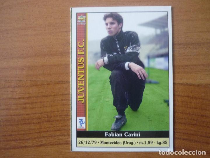 CARD MUNDICROMO CALCIO 2001 n.575 CARINI JUVENTUS
