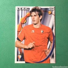 Cartes à collectionner de Football: MUNDICROMO FICHAS LIGA QUIZ 2010 2011 - ( OSASUNA ) N°322 SUPERSTAR LEKIC. Lote 121809771