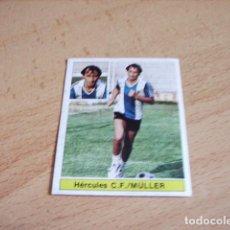 Cromos de Fútbol: HERCULES C.F -- MULLER U.F Nº28 BIS ED. ESTE 81-82 DE ALBUM. Lote 121896935