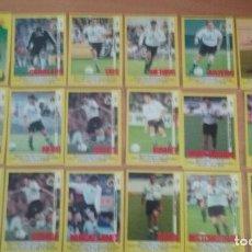 Cromos de Fútbol: PANINI 1999-2000. 18 CROMOS RACING SANTANDER. NUEVOS EN PERFECTO ESTADO. Lote 122018403