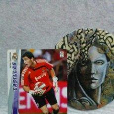 Cromos de Fútbol: MEGACRACKS 2008/09 - PANINI - CASILLAS - Nº 146 (REAL MADRID) MGK.. Lote 122047975