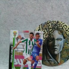 Cromos de Fútbol: MEGACRACKS 2014/2015-PANINI - Nº 95 - FRAN CRUZ (CORDOBA) - LIGA MGK. Lote 122047983