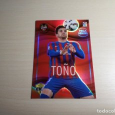 Cromos de Fútbol: MEGACRACKS 2015 2016 15 16 PANINI. TOÑO Nº 322 HEROES (LEVANTE) CROMO LIGA FÚTBOL MEGA CRACKS. Lote 155712486