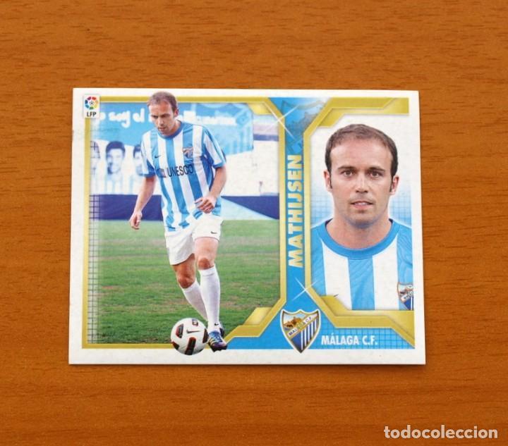 MÁLAGA - MATHIJSEN - LIGA 2011-2012, 11-12 - EDICIONES ESTE - NUNCA PEGADO (Coleccionismo Deportivo - Álbumes y Cromos de Deportes - Cromos de Fútbol)