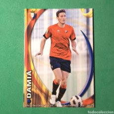 Cartes à collectionner de Football: MUNDICROMO FICHAS LIGA QUIZ 2010 2011 - ( OSASUNA ) N°303 DAMIA. Lote 122232756