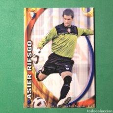 Cartes à collectionner de Football: MUNDICROMO FICHAS LIGA QUIZ 2010 2011 - ( OSASUNA ) N°301 ASIER RIESGO. Lote 122232831