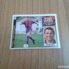 Cromos de Fútbol: STOICHKOV -- BARCELONA -- 97/98 -- ESTE -- NUNCA PEGADO. Lote 122248087