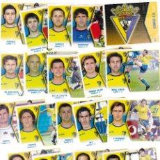 Cromos de Fútbol: 5400A -18 CROMOS LIGA ESTE 2005-06/05-06 -CÁDIZ, C.F.. Lote 122438751