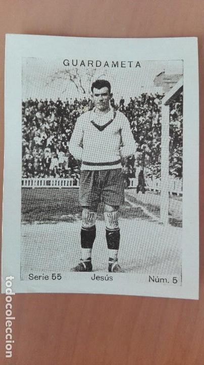 CROMO FUTBOL CUPON PENINSULAR SERIE 55 BETIS 1932 JESUS GUARDAMETA SEVILLA ANDALUCIA PERFECTA CONSER (Coleccionismo Deportivo - Álbumes y Cromos de Deportes - Cromos de Fútbol)