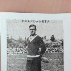 Cromos de Fútbol: CROMO FUTBOL CUPON PENINSULAR VALENCIA 1932 SERIE 56 CANO GUARDAMETA PORTERO PERFECTA CONSERVACION. Lote 122548211