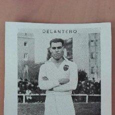 Cromos de Fútbol: CROMO FUTBOL CUPON PENINSULAR SERIE 56 VALENCIA LIGA 1932 TORREDELFORT DELANTERO PERFECTA CONSERVACI. Lote 122549243