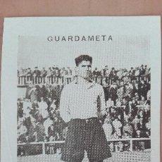 Cromos de Fútbol: CROMO FUTBOL CUPON PENINSULAR SERIE 59 MURCIA 1932 ENRIQUE GUARDAMETA PORTERO PERFECTA CONSERVACION. Lote 122551655