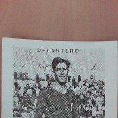 Cromos de Fútbol: CROMO FUTBOL CUPON PENINSULAR SERIE 59 REAL MURCIA 1932 SORNICHERO DELANTERO PERFECTA CONSERVACION. Lote 122554575