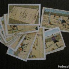 Cromos de Fútbol: FASES DE UN PARTIDO DE FUTBOL-COLECCION INCOMPLETA -24 CROMOS CHOCOLATE JUNCOSA-VER FOTOS-(V-14.675). Lote 122600187