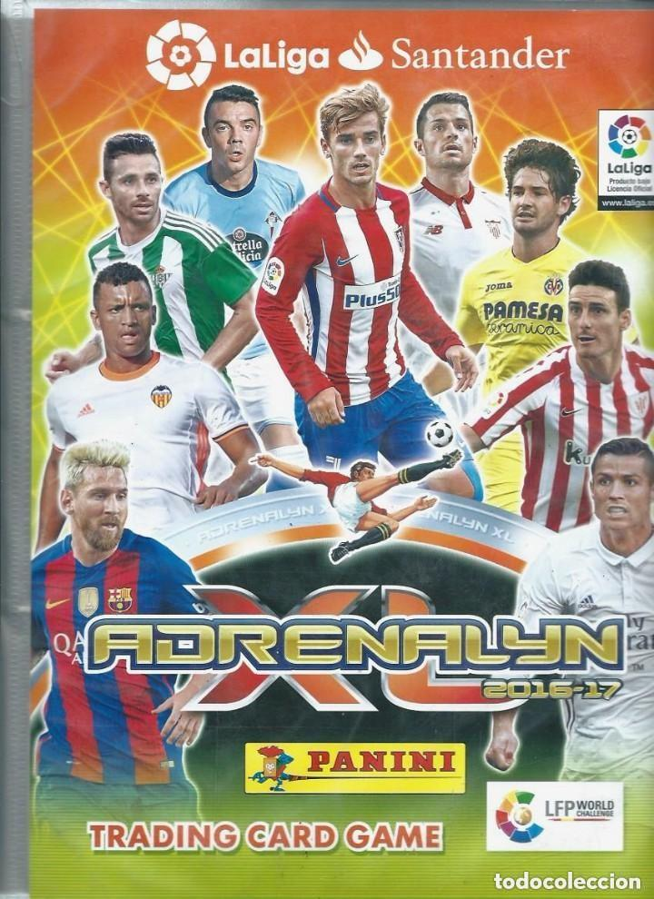 Adrenalyn Xl 2016 2017 Panini Album Archivador Sold Through Direct Sale 122639511