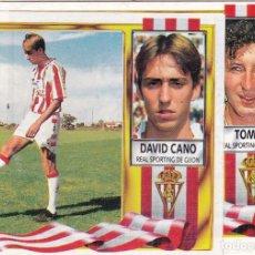 Cromos de Fútbol: ESTE 95/96 DAVID CANO MUY DIFICIL (LE FALTA UN TROZO). Lote 122709799