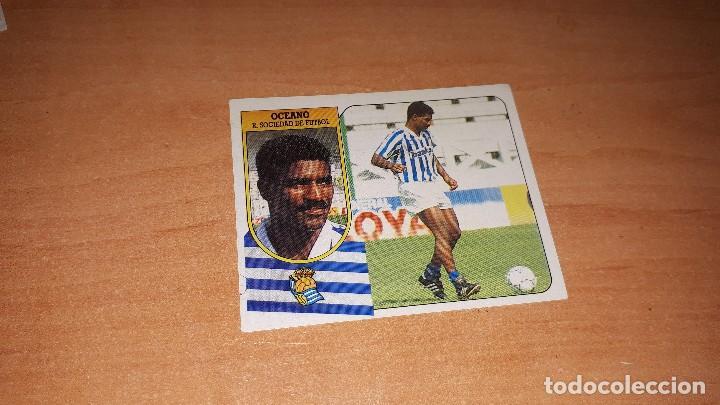 CROMO OCEANO 91-92 (Coleccionismo Deportivo - Álbumes y Cromos de Deportes - Cromos de Fútbol)
