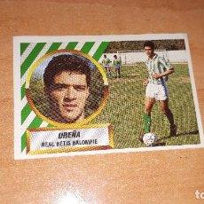 Cromos de Fútbol: CROMO UREÑA 88-89. Lote 122865743