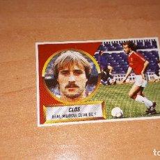 Cromos de Fútbol: CROMO CLOS 88-89. Lote 122865803
