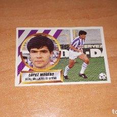 Cromos de Fútbol: CROMO LOPEZ 88-89. Lote 122865943