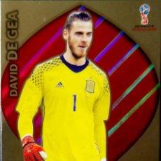 Cromos de Fútbol: DAVID DE GEA - MANCHESTER ESPAÑA - LIMITED EDITION - ADRENALYN XL 2018 - RUSSIA RUSIA FIFA WORLD CUP. Lote 122890891