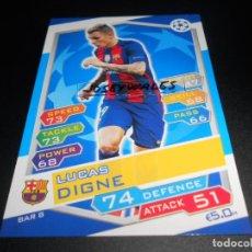 Cromos de Fútbol: 8 LUCAS DIGNE FC BARCELONA CROMOS CARDS CHAMPIONS LEAGUE TOPPS ATTAX 16 17 2016 2017. Lote 122990671